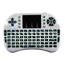 Mini Backlight i8 Wireless 2.4GHz Keyboard Touchpad Remote Combo for PC TV Box