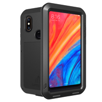 Armored Hybrid Cover Case Waterproof Case Fundas Housing Water/Dirt/Shock/Rain Proof For Xiao mi MIX 2s Case