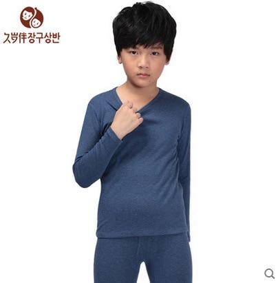Aliexpress.com : Buy Boy's thermal underwear set kids long johns ...
