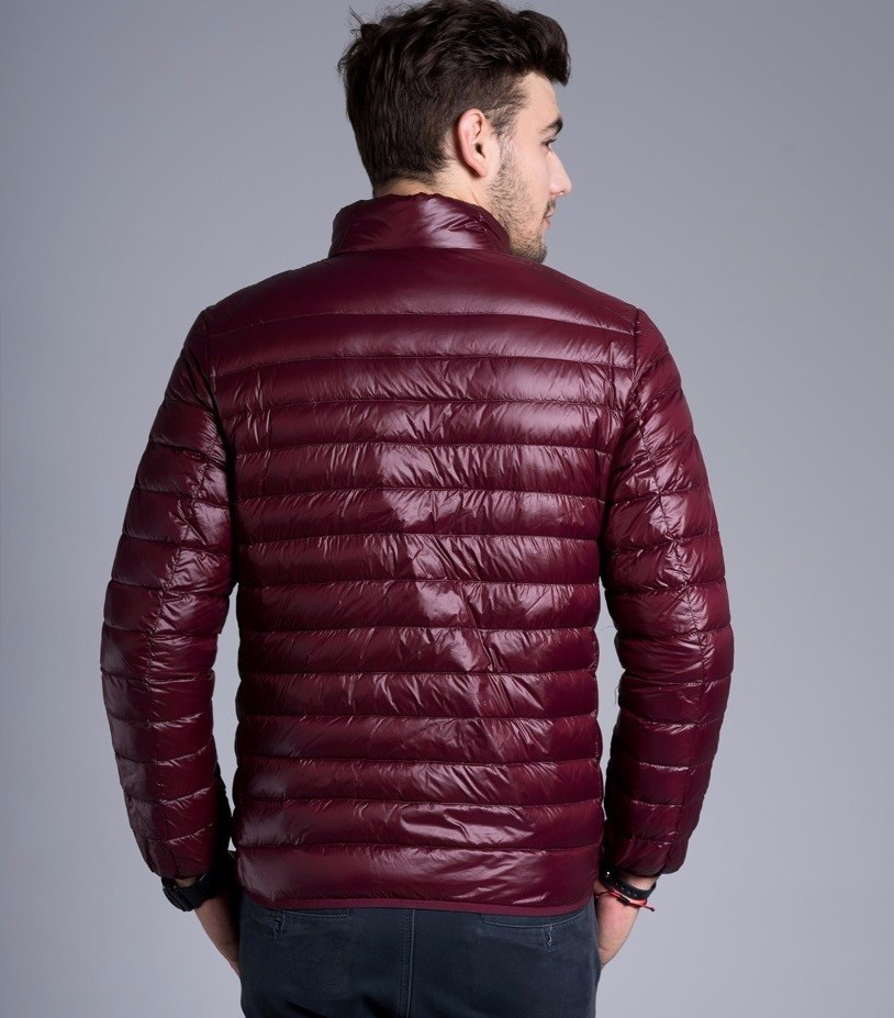 Men casual warm Jackets solid thin breathable Winter Jacket Mens outwear Coat Lightweight parka Plus size XXXL hombre jaqueta 8