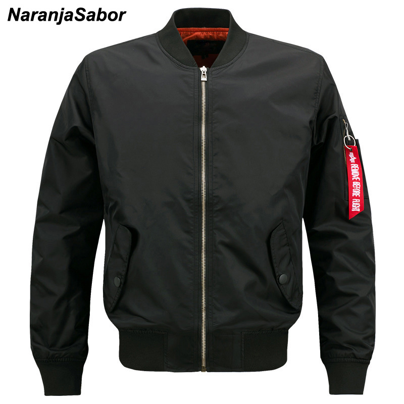 NaranjaSabor Men S Brand Air Force Jacket Male Flight Pilot Clothing Bomber Jacket Men Spring Autumn