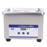 Mini Digital Ultrasonic Cleaner 800ml Tank Capacity Jewelry Watch Dental 35W 42 000Hz Ultrasound Sterilizer