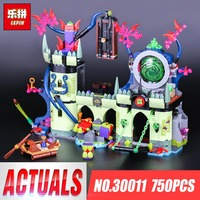 Lepin 30011 New 750Pcs Creative Series The Breakout From The King S Fortress Set 41188 Building