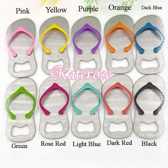 f467dc9d6 Online Shop (18pcs lot)FREE SHIPPING+Beach Themed Party Giveaway Colorful Flip  Flop Bottle Openers Metal Beer Opener Summer Wedding Favors