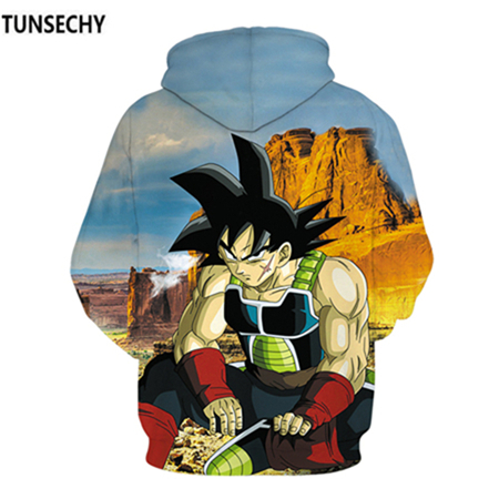 TUNSECHY Brand Dragon Ball 3D Hoodie Sweatshirts Men Women Hoodie Dragon Ball Z Anime Fashion Casual Tracksuits Boy Hooded 37