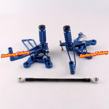 Motorcycles Adjustable Rearset Rear Set Footpegs Foot Rest Peg For Honda CBR 400RR/400/893/900/919 Spare Parts Pair