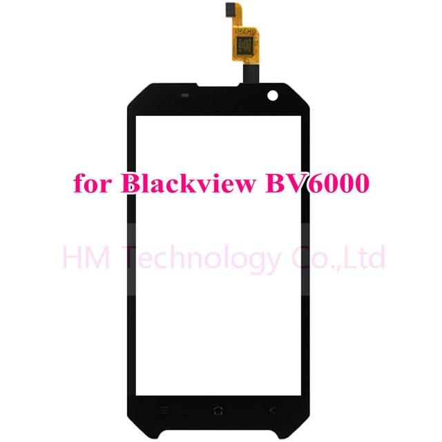 """4.7 """"tp para blackview bv6000 preto digitador da tela de toque do painel de vidro frontal da lente do sensor não lcd substituir peças frete grátis + ferramentas"""