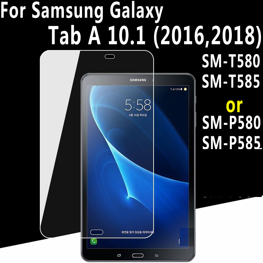 Premium Tempered Glass for Samsung Galaxy Tab A A6 10.1 2016 2018 T580 T585 SM-T580 SM-T585 SM-P580 SM-P585 Screen Protector