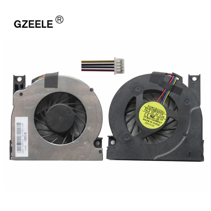 GZEELE cpu cooling fan for ASUS A9T A94 X51 X50S X53 X50Q X50Z X50M F5 X50SL X50V GB0575PFV1-A  5V 1.9W  4 Wires Notebook Cooler for asus u46e heatsink cooling fan cooler