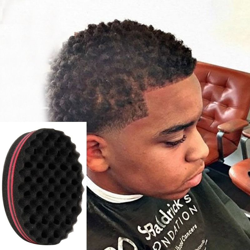 New Double Wave Magic Hair Twist Sponge Dreads Twisting Locks Dreadlocks Curl Brush Sponge