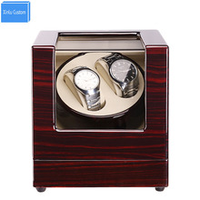 Luxury Watch Winder 2 Grids 5 Color&4 Plug Electric/Battery Support Mechanical Watches Japan Mute Mabuchi Motor, Drop Shipping
