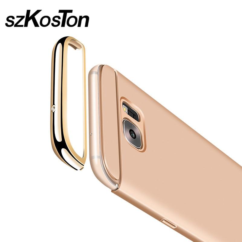 Lyx för Samsung S7 fodral Samsung Galaxy S7 Edge fodral hårt - Reservdelar och tillbehör för mobiltelefoner - Foto 2