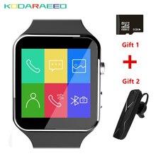 X6 Smart Watch Bluetooth Camera Relojes TF Card relogio reloj inteligente Wearable Device SIM Smartwatch phone