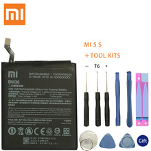 XiaoMi Original Replacement Battery BM36 For Xiaomi Mi 5S MI5S 100% New Authentic Phone Battery 3200mAh стоимость