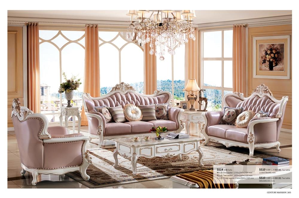 classic italian antique living room furniture sofa set-in Living ...