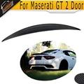 carbon fiber car rear trunk boot lip spoiler wings for maserati GranTurismo GT 2-Door flat trunk 2006-2010