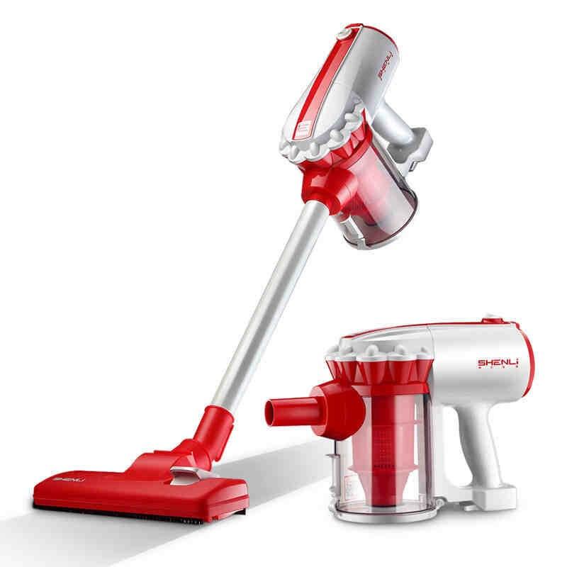 Petit aspirateur domestique ultra-silencieux à main aspirateur domestique double usage à sec et humide