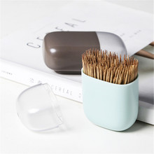 Toothpick Box Creative Portable Household Holder Kitchen Refrigerator Paste Microwave Magnetic Storage 29