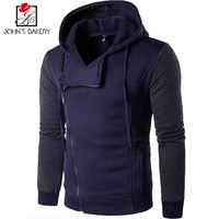New Real Sale Full Brand 2018 Hoodies Men Stitching Design Sweatshirt Male Hoody Hip Hop Autumn