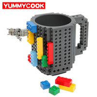 350ml Building Blocks Mug Funny Cool Coffee Beer Cup Travel Items Gear Stuff Accessories Supplies Products