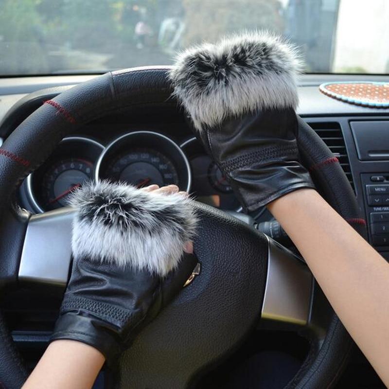 Winter Modemerk Beroemde Beroemdheden Dames Lederen Handschoenen - Babykleding