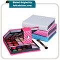 32 Colores de Sombra de Ojos Brillo Paleta de Sombra de Ojos Maquillaje Kit Con Labio Jalea Espejo Compacto Rubor En Polvo Cepillo
