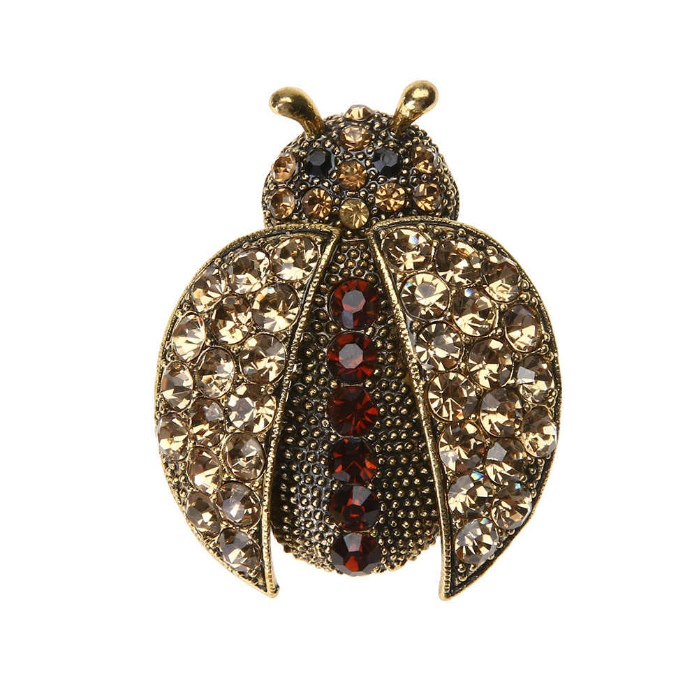 ... Fashionable Brooch Korean Ladybug Shape Collar Brooches For Women Cuits  Charm Collar Lapel Pin Corsage Handmade ... 06911c152fb4