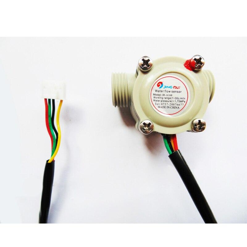 Home gas thermostat water heater water flow sensor Budweiser intelligent sensorless water flow sensor