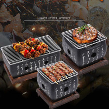 Japanese Korean Barbecue Grill Food Carbon Furnace Stove Cooking Oven Alcohol Household BBQ Tools