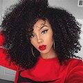 7А Бразильский Зажим Для Волос В Расширениях 4B 4С Афро Кудрявый Curly Clip В Человеческих Волос Афро-Американской Человеческих Волос расширения