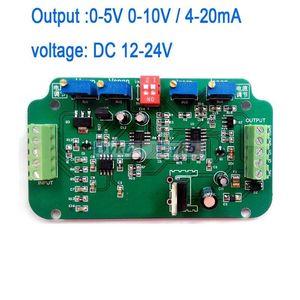Image 1 - DYKB 0 5V 0 10V 4 20MA yük hücresi sensörü amplifikatör tartı verici gerilim akım dönüştürücü