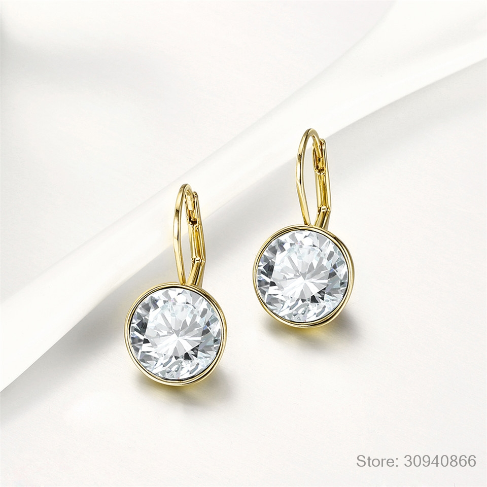 Lovely Fashion Crystals from Swarovski Colorful Earrings Charm for Women Valentines Day New Year Gift M67-20369Lovely Fashion Crystals from Swarovski Colorful Earrings Charm for Women Valentines Day New Year Gift M67-20369