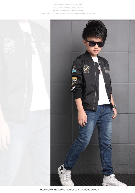 Us 9 6 20 Off Anak Anak Jaket Untuk Anak Laki Laki Mantel Anak Anak Pakaian Musim Semi Musim Gugur 2019 Fashion Anak Musim Dingin Jaket Anak Laki