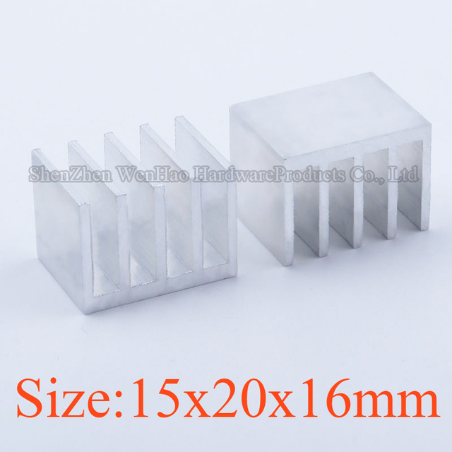 High quality Heatsink 15x20x16 mm Aluminum heatsink heat sink radiator for IC LED Electronic Chipset cooling Ex-factory price