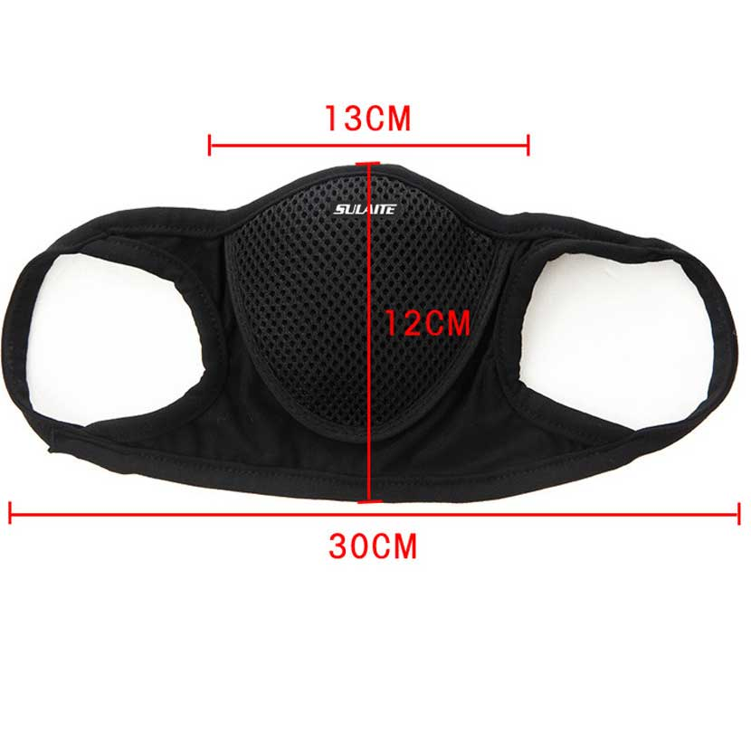 Anti Dust Mask Black Filter Outdoor Sports Anti-pollution 5