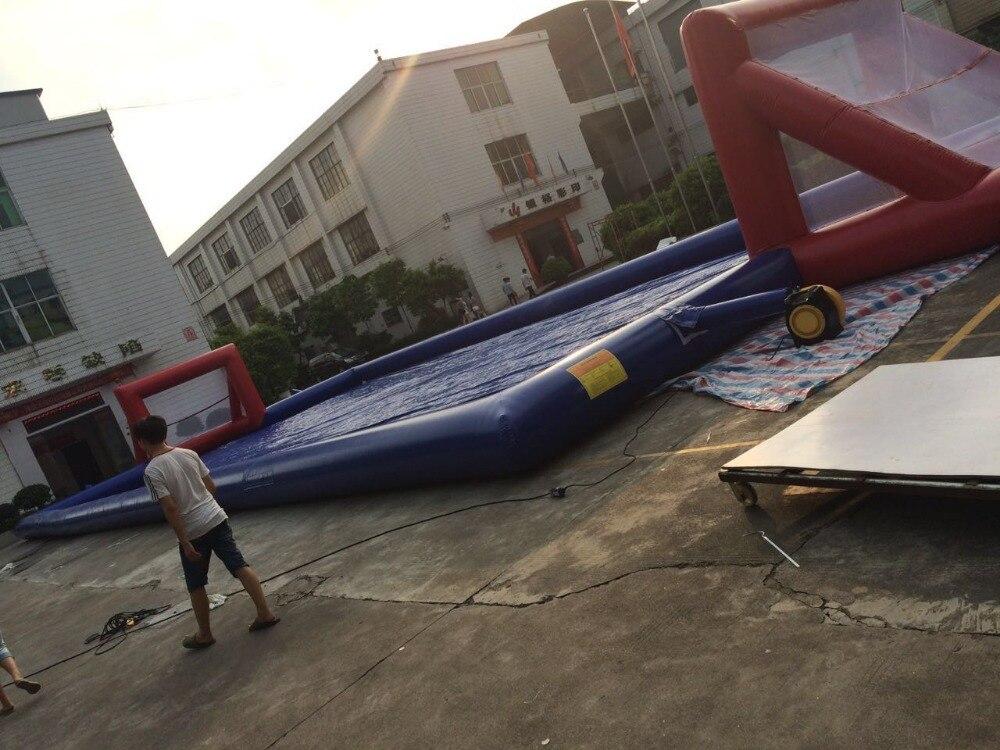 2016 nuevo campo de fútbol inflable directo de fábrica pista - Entretenimiento