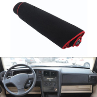 For VW Jetta 2005 2012 Car Dashboard Avoid Light Pad Instrument Platform Desk Cover Mat Silicone