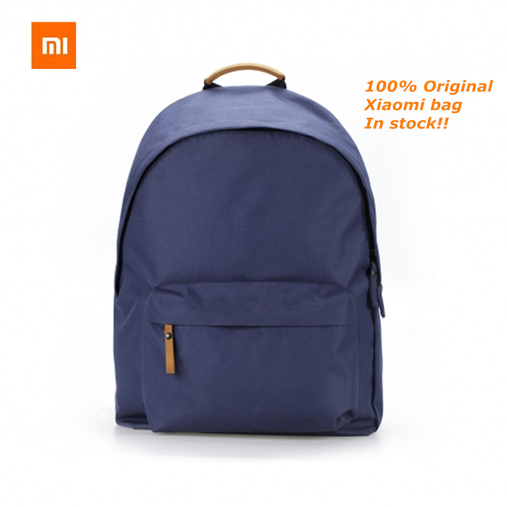 Prix pour 2017 Nouveau 100% d'origine xiaomi sac à dos brève sac d'école avec 25L capacité pour 14 pouces de l'ordinateur/xiaomi plaque livraison Gratuite