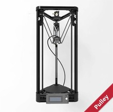 Auto leveling  2016 Pulley 3D Printer  DIY kit  Injection Model Kossel Mini 3D Printer Delta Rostock