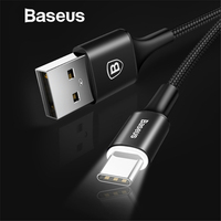 Baseus USB Type C Cable for xiaomi redmi note 7 USB-C Cable for Samsung Galaxy S9 S8 Plus Charging with Lighting Type-C Cable Mobile Phone Cables