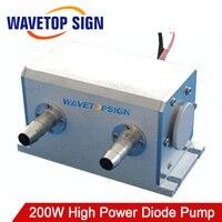 1064nm 200 Вт высокой мощности диод насосной Nd: YAG лазерной полости Размер 130*64*72 мм