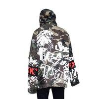 Мультфильм печати Куртки Для мужчин дышащие уличные пальто восхождение Куртки Пеший Туризм Кемпинг Осенняя школьная Бейсбол студент форма