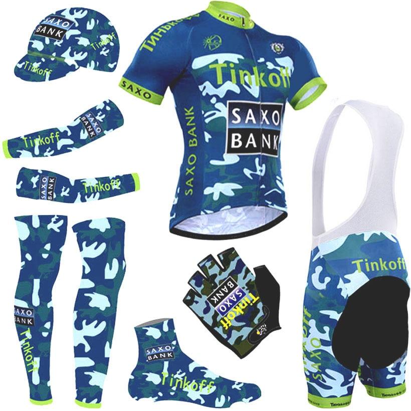 2016 camouflage thikoff cycling jersey quick dry saxo cycling font b shirts b font bike shorts