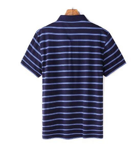 2019 Nuovi Uomini di Alta Qualità T Shirt di Seta degli uomini Breve maglietta del manicotto di Estate di Seta Uomo t shirt di Cotone della banda di sesso maschile t shirt - 2