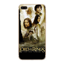Lord Of Rings The Hobbit Transparent Hard Thin Case Cover For Apple iPhone