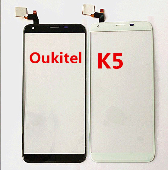 Angcoucoux For Oukitel K5 Touch Screen Glass Panel Digitizer Replacement Parts For Mobile Phone Oukitel K5