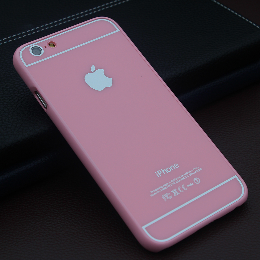 sale retailer 379f8 db350 US $2.99 |Limit edition pink colour ultrathin hard plastic back case cover  for iphone 5 5s 6 4.7'' plus 5.5 inch capa fundas hood sheath on ...