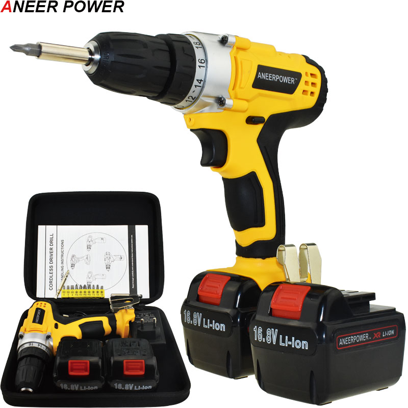 1.5Ah Battery Capacity Drill Power Tools Electric Drill Cordless Drill 16.8v Mini Electric Screwdriver Batteries Screwdriver 1 5ah battery capacity drill 12v mini cordless drill power tools electric screwdriver electric drill batteries screwdriver