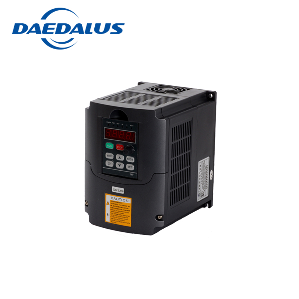 HY AC 110V/220V Frequency Converter 2.2KW VFD Variable Frequency Drive Converter Speed Controller Converter