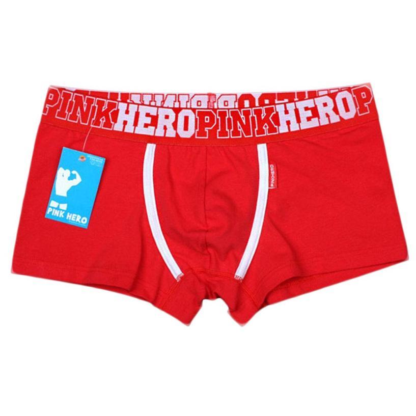 SIF 2016 New Men Underwear High Quality Cotton Boxers Comfortable Men Fit Male Shorts FEB 29
